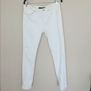 Joe Jeans white jeans. Size 30